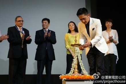 トニーさん@インド国際映画祭3