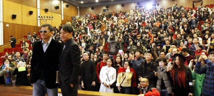 ウォン・カーウァイ&チャン・チェン@北京