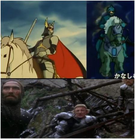 騎士の鎧~~