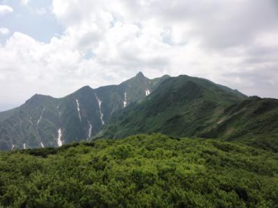 芦別岳 110