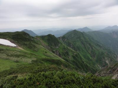 芦別岳 190