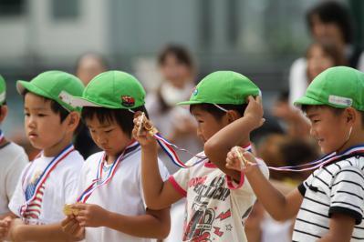金沢市 中村町保育園 最後の運動会