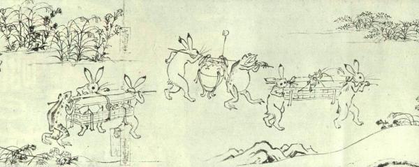 鳥獣戯画_Choju Giga