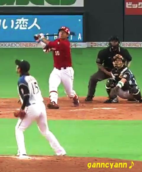 2012 06 05 3回 岩ちゃん初ホームラン④-③