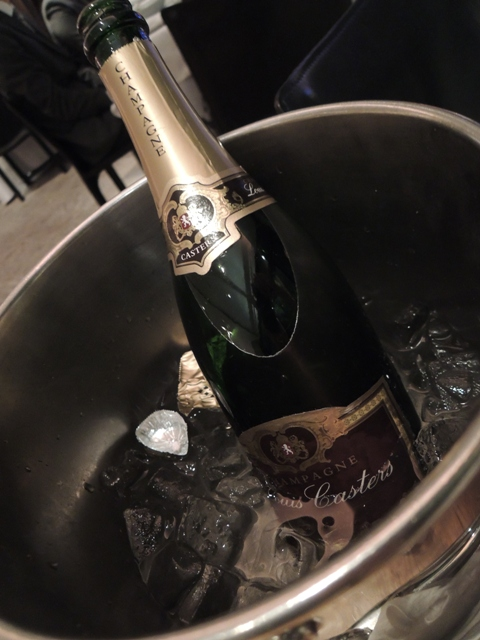 葉山庵 シャンパン