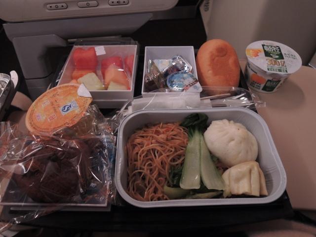 機内食 朝食1