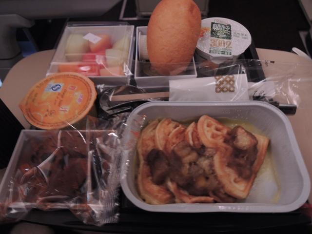 機内食 朝食2