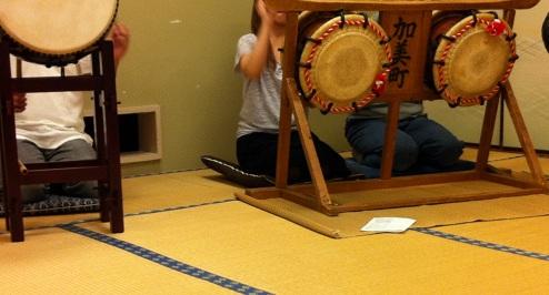 お囃子練習1