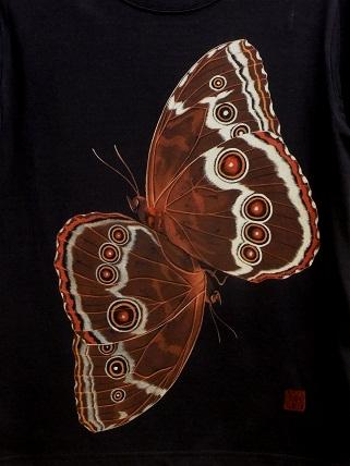 モルフォチョウの求愛 Tシャツ 20126291