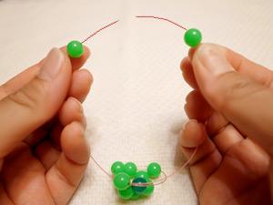 ビーズボール作り方10