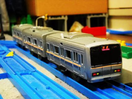改造ぷられーるJR西日本207系更新色(リメイク)作製記後おまけ的なにか