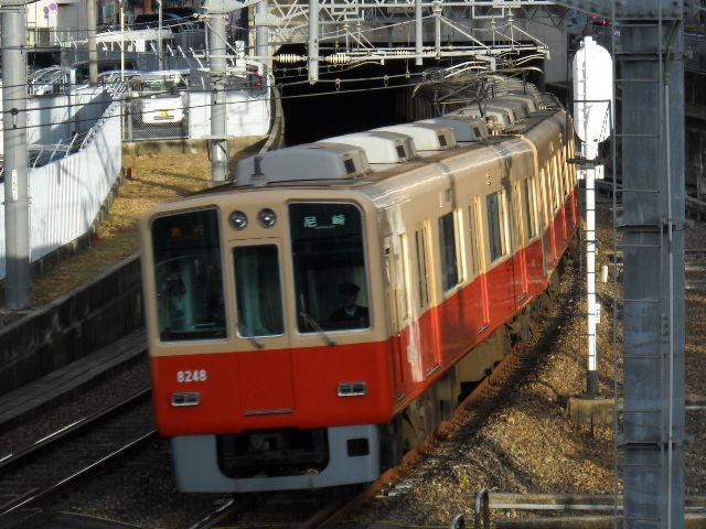 12月22日阪神8235F更新車を求めて阪環クロスへ(ぇ