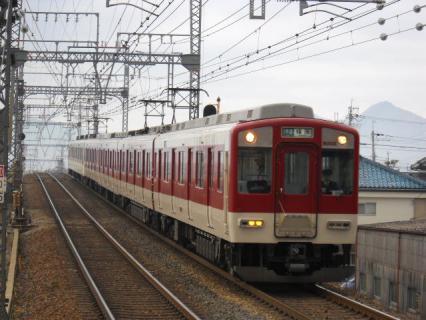 1月の近鉄大阪線撮影記(休日の松塚編)