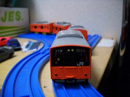 改造プラレール 環状線の新種led幕の201系を作ろう!その2