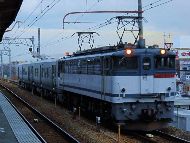 1月8日JR四国1500系7次車甲種回送を追っかけてみる(後編)
