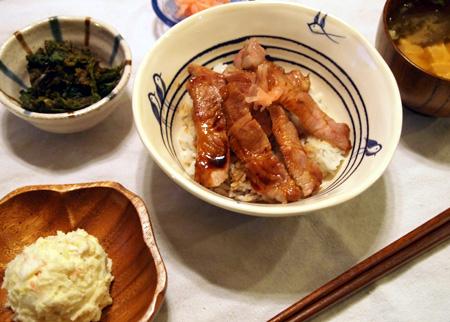 北海道の豚丼