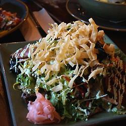 アヒツナのサラダ