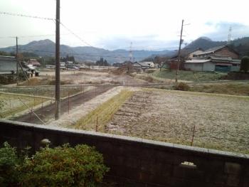 20141206雪・・・かな