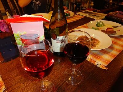 ぶどうジュースとワイン