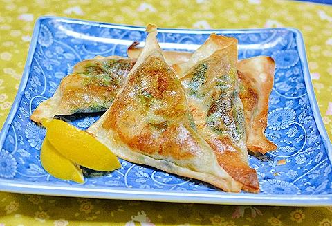 牡蛎の春巻き?餃子?51