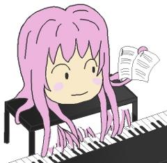 たこルカのピアノ演奏