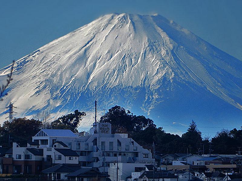 141205今日の富士山@横浜市南区2