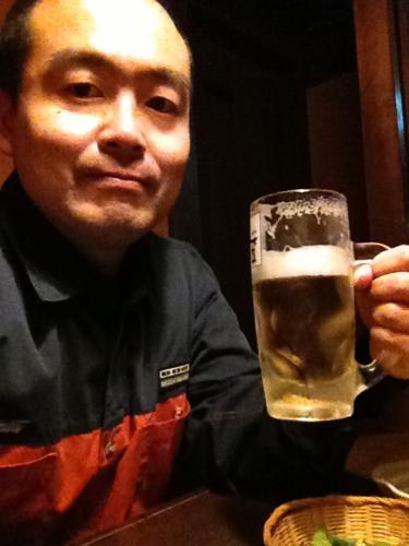 ひとりビール