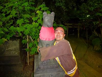 コンコン様と狸