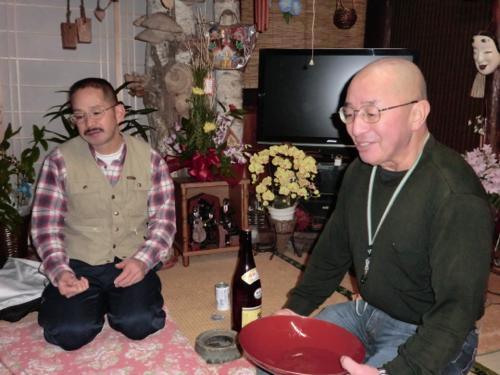 長谷川さんと師匠