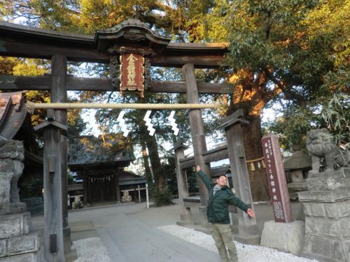 金鑚神社1