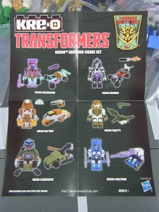 Botcon2014 Exclusive KREO Micro Changers 6-PACK 004