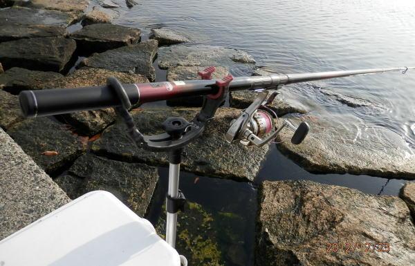 9:19 釣り開始 ♪