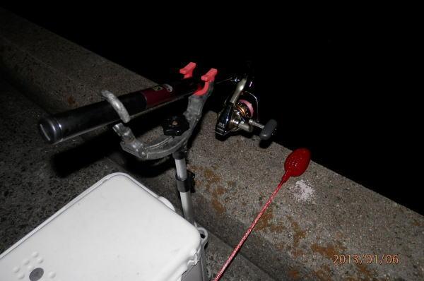 6:45 釣り開始 ^^