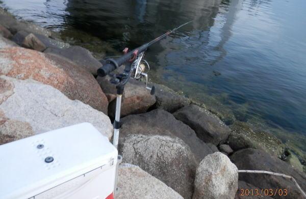 6:21 釣り開始 ♪