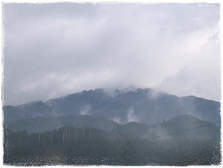 今日の幻想的な比叡山