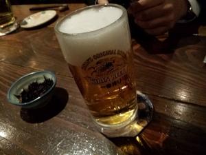 まずはビール!