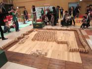キャラバン 六角積み木ドミノ1