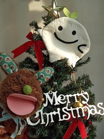 ひこぴーとぱくぱくちゃんクリスマス