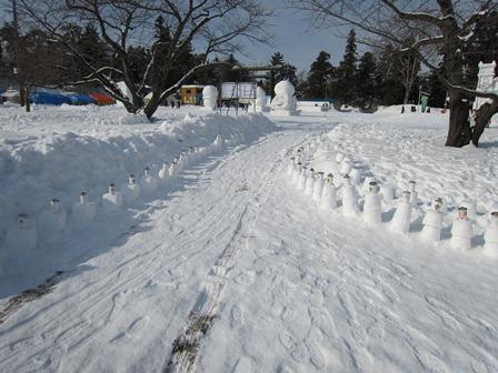 雪燈籠まつりキャンドルポット1