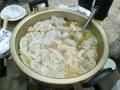 中華風餃子スープ