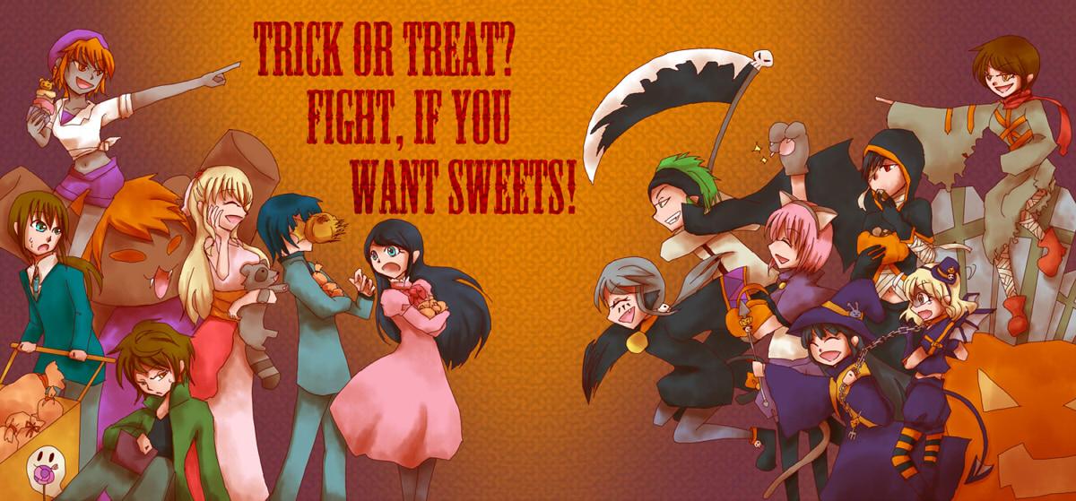 お菓子争奪戦