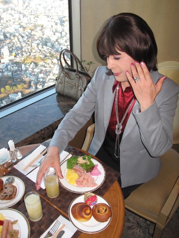 091219ロイヤルパーク朝食(2)