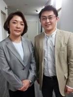勝間和代さんと藤田