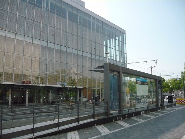 富山市電電停