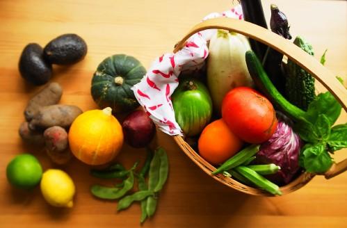 夏野菜 サイズ変更