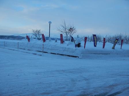 雪深い新庄