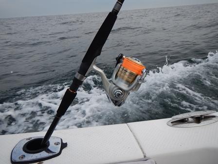 釣りに行きました
