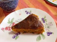 カボチャのシュレッドケーキ