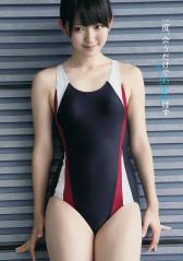 鈴木愛理のスクール水着もりまん太腿画像