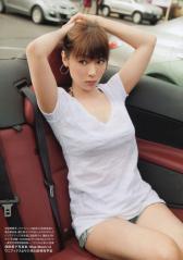 深田恭子がTシャツホットパンツルック画像